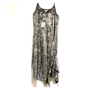 Bar III sequins shift dress